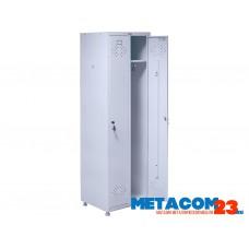Шкаф для одежды медицинский ПРАКТИК МД 2 ШМ-SS (21-50)