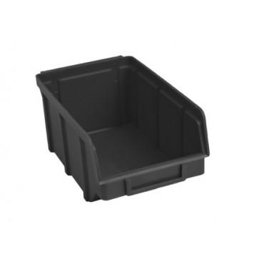 Ящик складской черный (702)