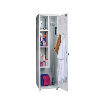 Шкаф для одежды медицинский ПРАКТИК МД 1 ШМ-SS (11-50)