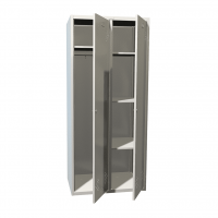 Шкаф для одежды LS-21-80U