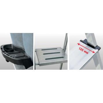 Лестницы-стремянки одностороннего типа Safepro -1