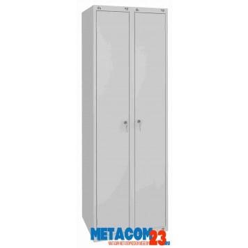 Шкаф металлический для одежды-1