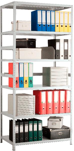 Стеллажи архивные (750 кг на секцию) (13)