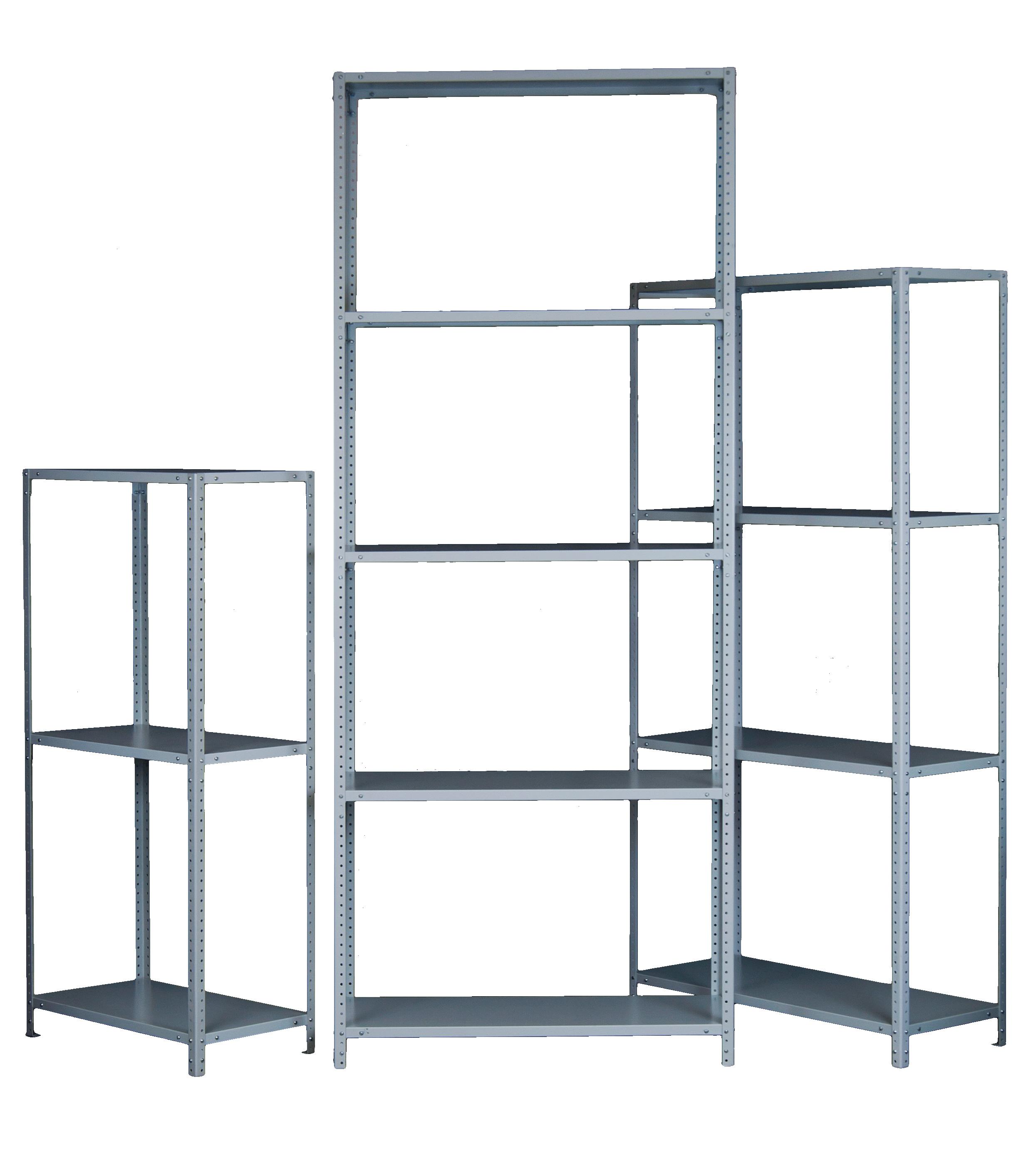 Стеллажи металлические (комплекты универсальных стеллажей по выгодной цене) (12)