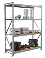 Стеллажи средне-грузовые MS PRO (2500 кг на секцию) (3)